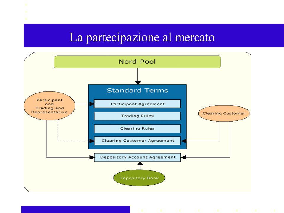 La partecipazione al mercato