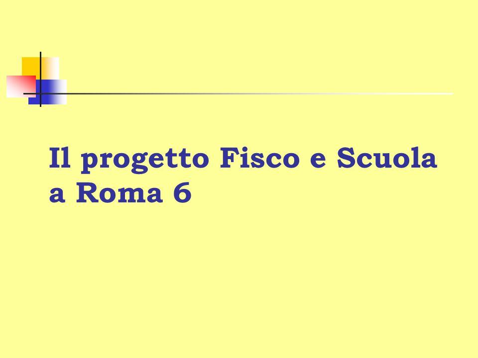 Come nasce il progetto Fisco e Scuola.