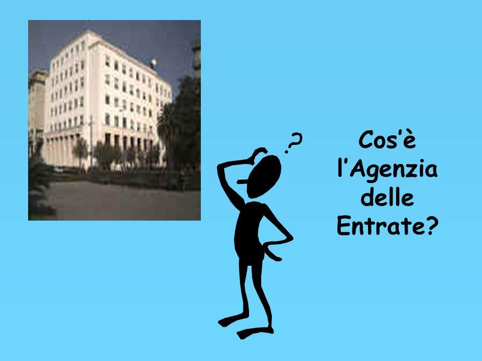 Agenzia delle Entrate IL FISCO A SCUOLA Progetto formativo per lacquisizione dei principi costituzionali di giustizia ed equità fiscale