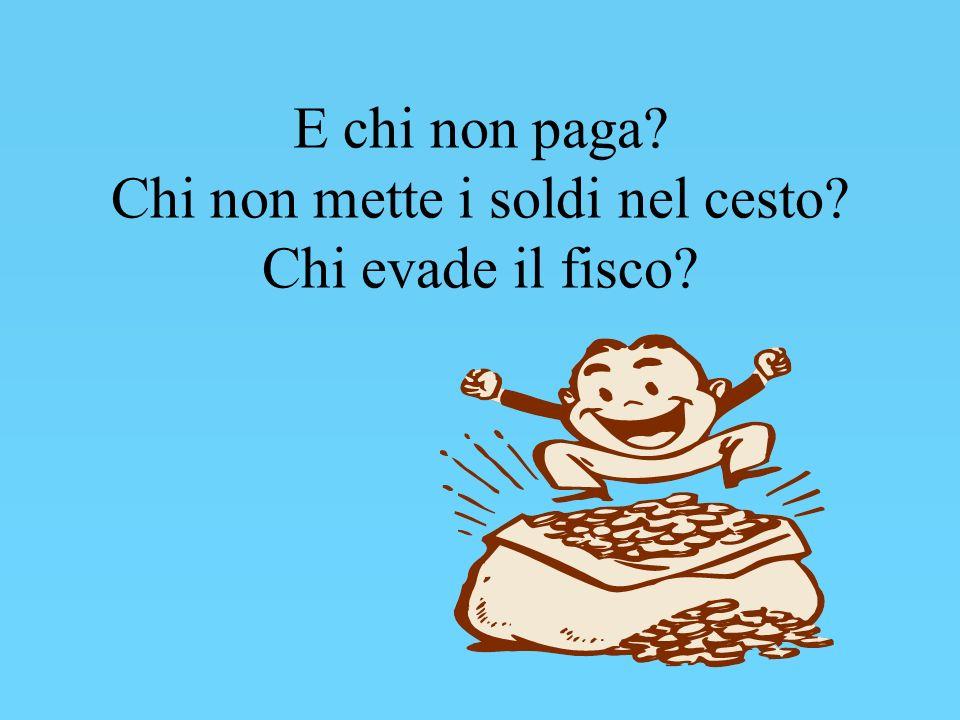 ARTICOLO 53 della COSTITUZIONE ITALIANA Tutti sono tenuti a concorrere alle spese pubbliche in ragione della loro capacità contributiva.