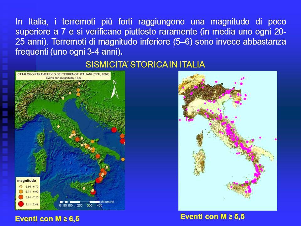In entrambi i casi i terremoti in Italia producono danni notevolissimi a causa dell alta vulnerabilità delle costruzioni, sia private che pubbliche.