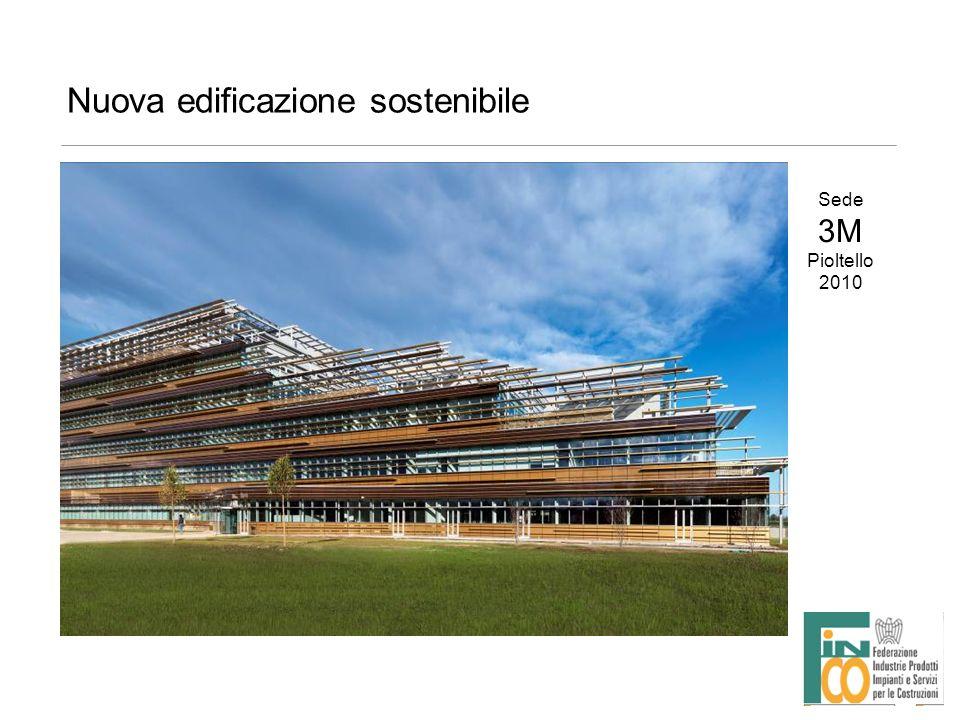 Nuova edificazione sostenibile Sede 3M Pioltello 2010
