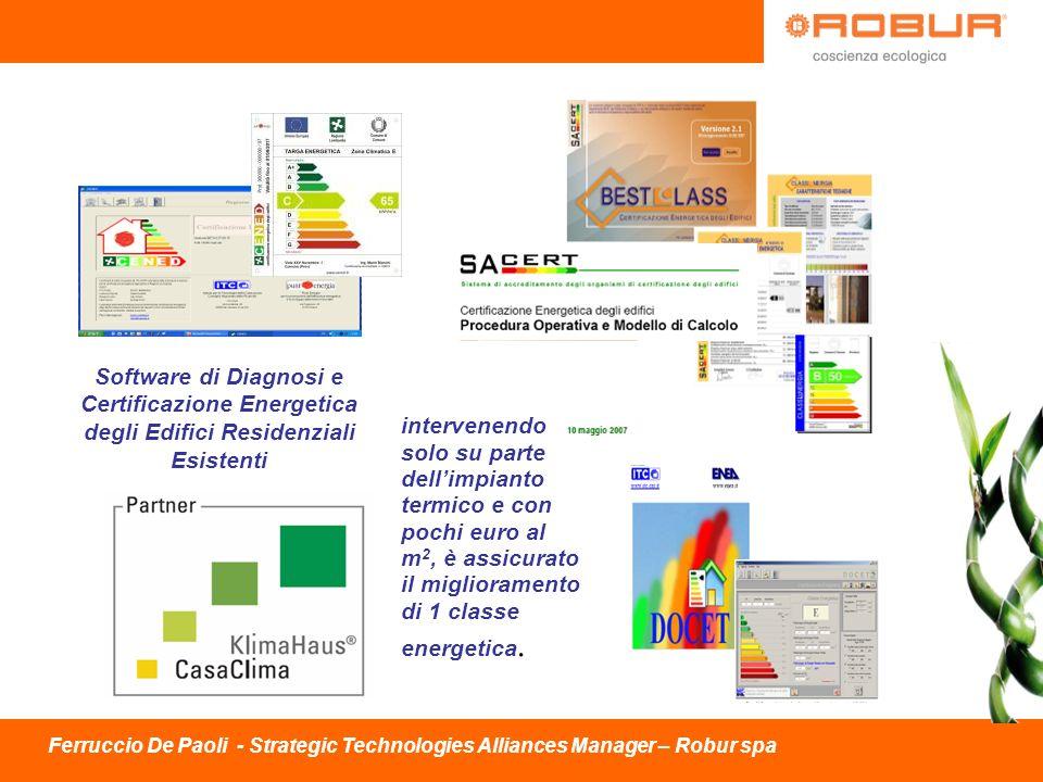 Software di Diagnosi e Certificazione Energetica degli Edifici Residenziali Esistenti intervenendo solo su parte dellimpianto termico e con pochi euro