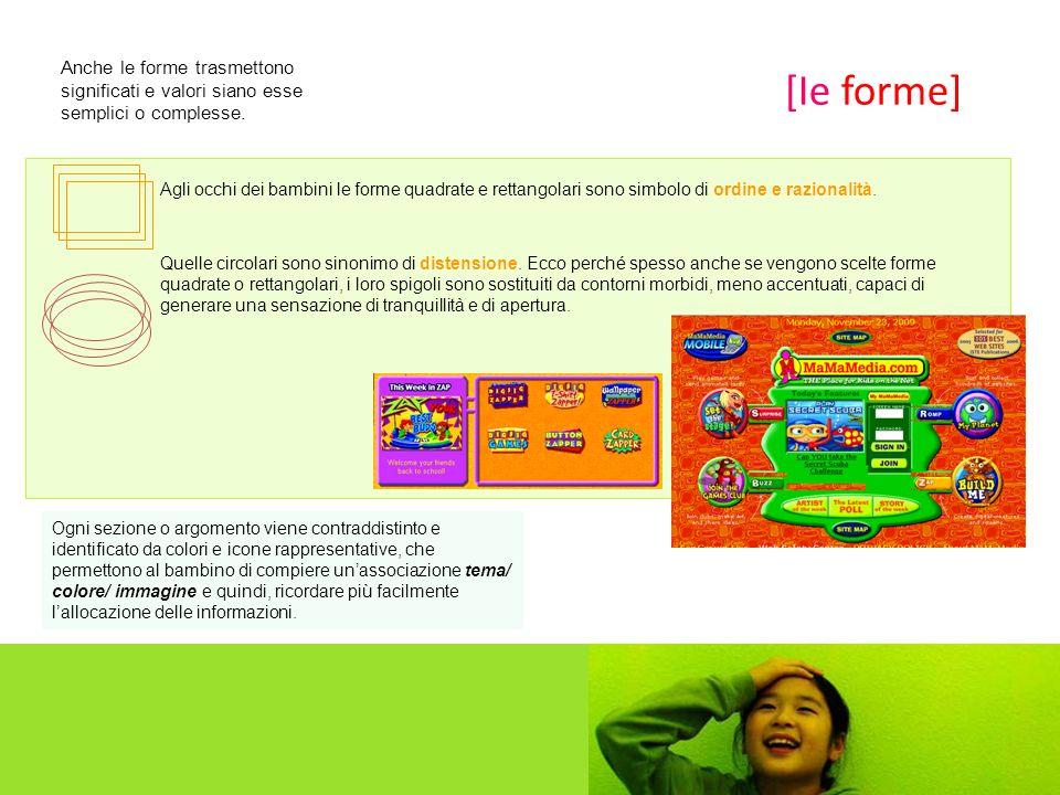 Agli occhi dei bambini le forme quadrate e rettangolari sono simbolo di ordine e razionalità.