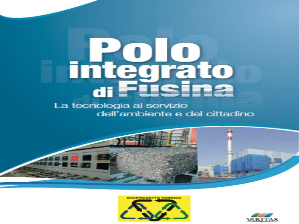 Ecoprogetto Ecoprogetto è una società pubblico- privata, controllata da VERITAS, che governa il ciclo di trattamento, valorizzazione e smaltimento dei rifiuti nellarea veneziana, assicurando lautosufficienza del territorio servito.