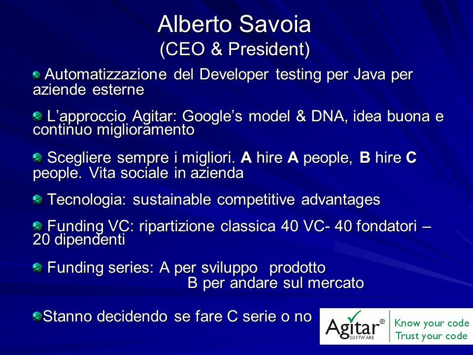 Automatizzazione del Developer testing per Java per aziende esterne Automatizzazione del Developer testing per Java per aziende esterne Lapproccio Agi