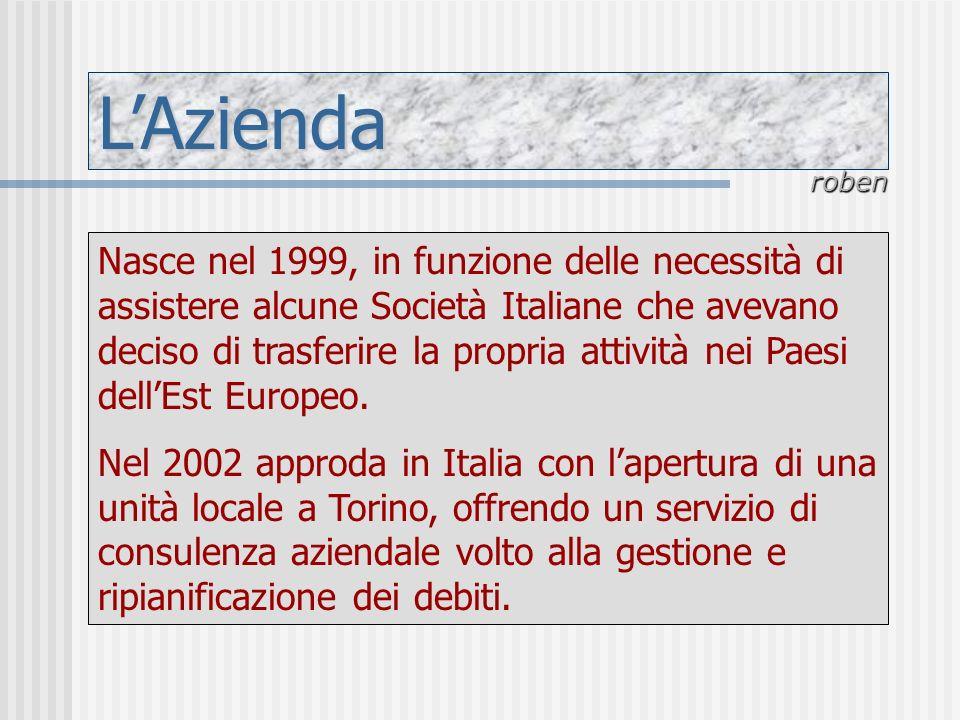 LAzienda Nasce nel 1999, in funzione delle necessità di assistere alcune Società Italiane che avevano deciso di trasferire la propria attività nei Pae