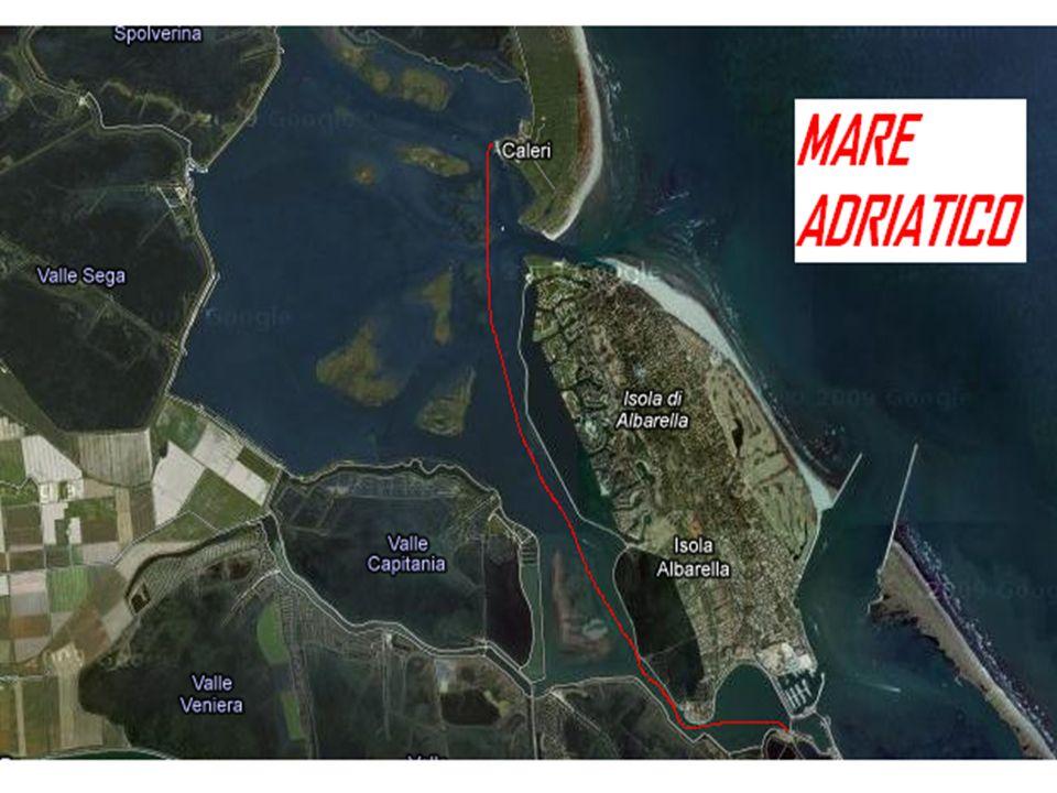 Per raggiungere il parco partendo dall isola di Albarella occorre prendere un imbarcazione che costeggierà tutta lisola e raggiungerà Porto Caleri.