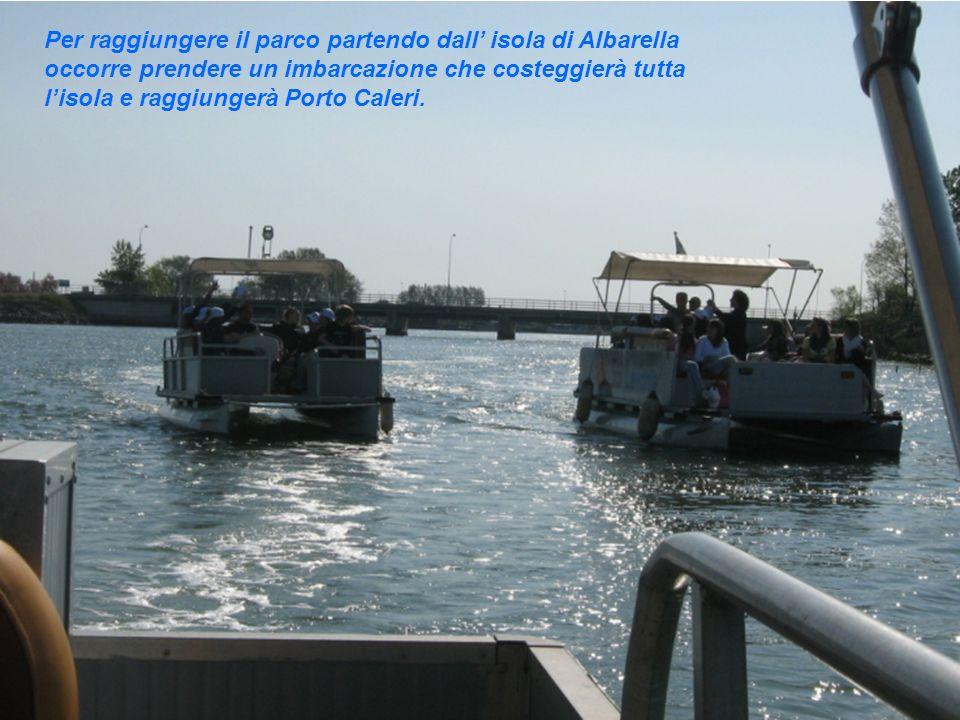 Scesi dalla barca si effettua una piccola camminata fino ad arrivare al punto di partenza dei vari percorsi del parco.