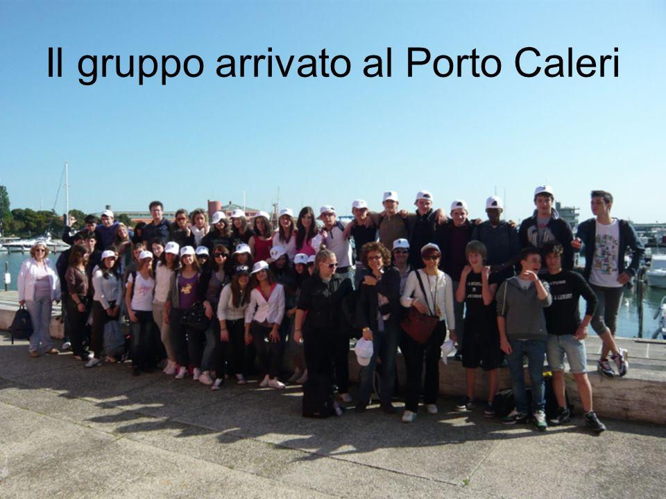 Il gruppo arrivato al Porto Caleri