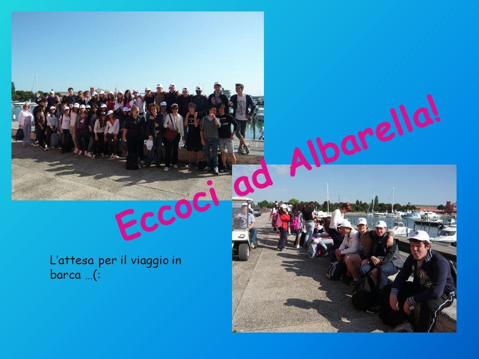 Lattesa per il viaggio in barca …(: Eccoci ad Albarella!