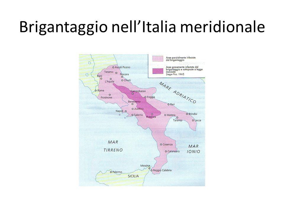 Brigantaggio nellItalia meridionale