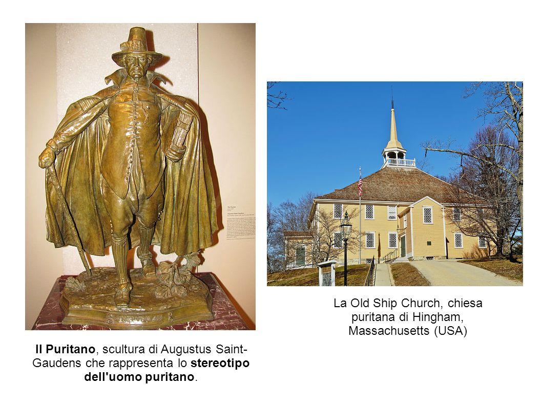 La caccia alle streghe di Salem In Massachussetts,nella città di Salem, un fiorente centro di scambi marittimi, si verificò nel febbraio 1692 la vicenda della caccia alle streghe.
