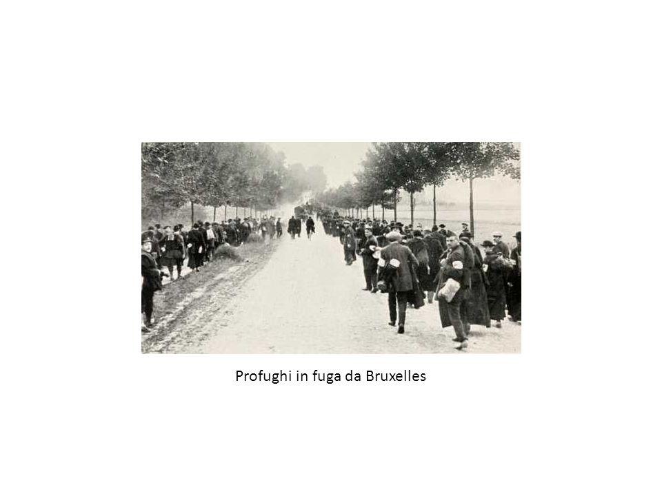 Profughi in fuga da Bruxelles