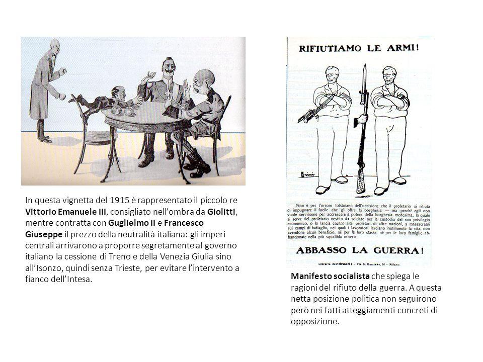 Mussolini e il maggio radioso Mussolini ricorda con entusiasmo, in uno dei suoi discorsi dal balcone, il maggio radioso 1915: http://www.youtube.com/watch?v=9rkQqew mJmI http://www.youtube.com/watch?v=9rkQqew mJmI