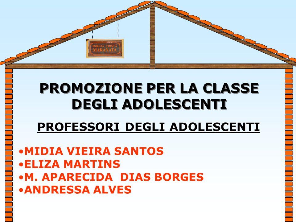 ADOLESCENTE PREADOLESCENTE BENVENUTI ALLA CLASSE DEGLI ADOLESCENTI DAI 11 AGLI 15 ANNI MISSIONE EVANGELICA MARANATA DITALIA
