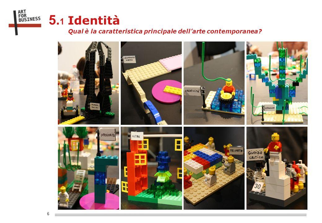 6 Qual è la caratteristica principale dellarte contemporanea 5. 1 Identità