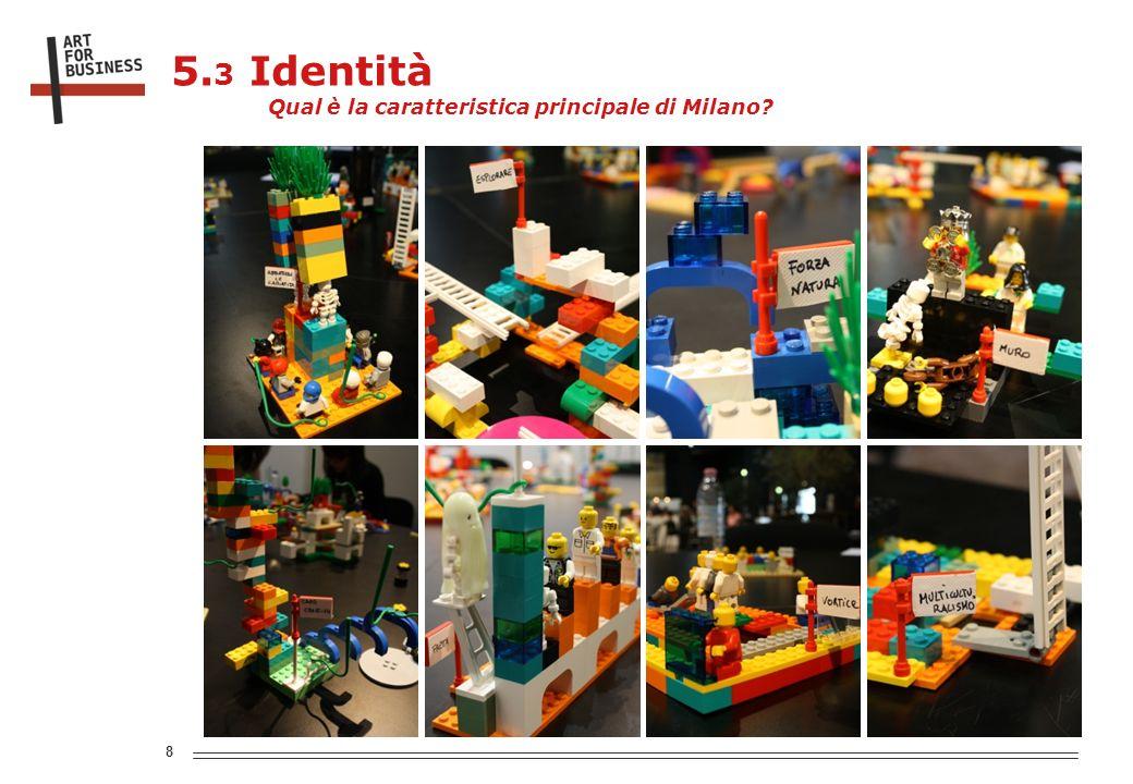 8 5. 3 Identità Qual è la caratteristica principale di Milano