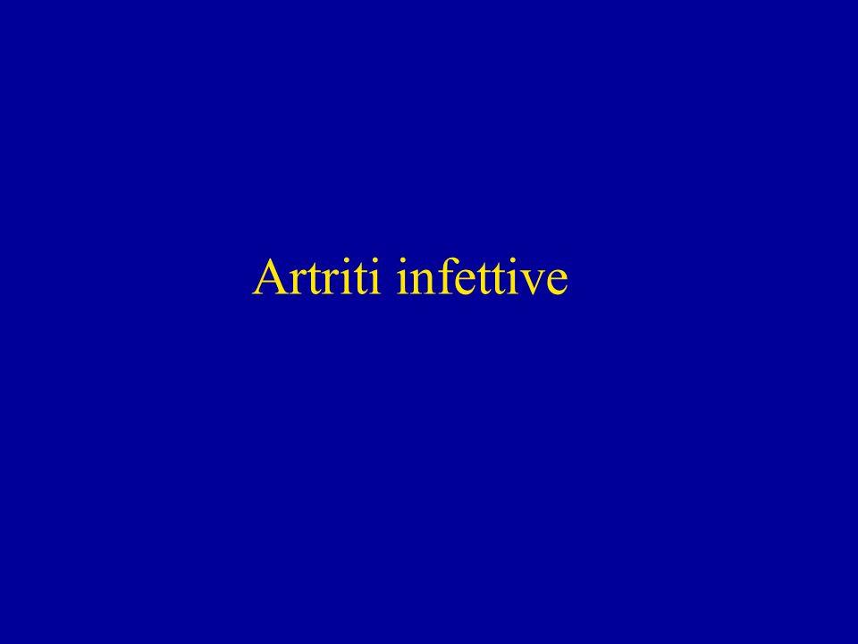 Artriti infettive