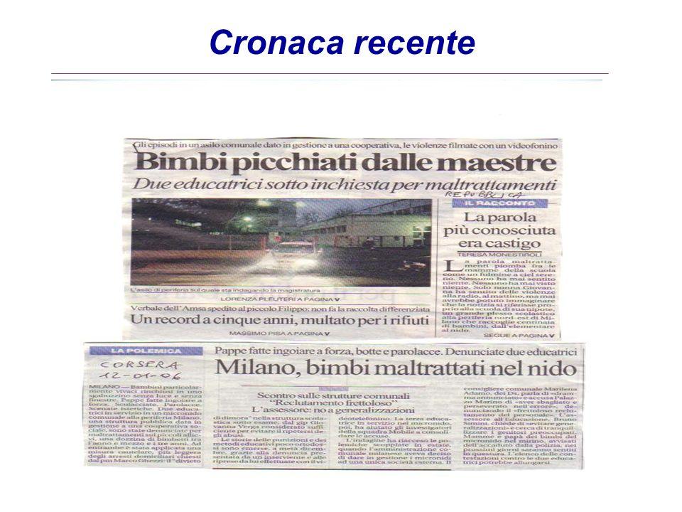 Periodo dosservazione: dal 1982 fino al 1998 (regional.zione) INSEGNANTI cartelle cliniche osservate n.