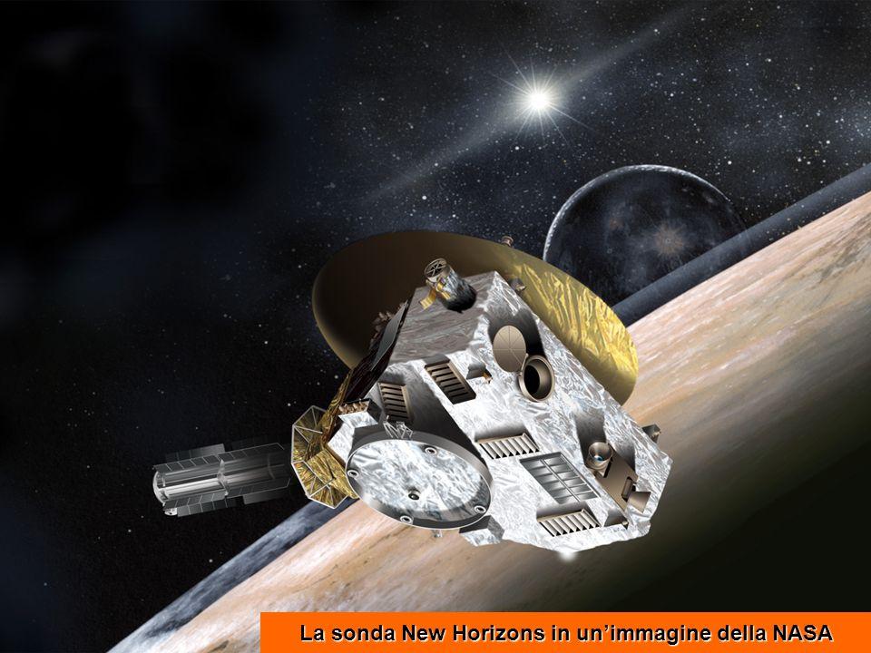 La sonda New Horizons in unimmagine della NASA