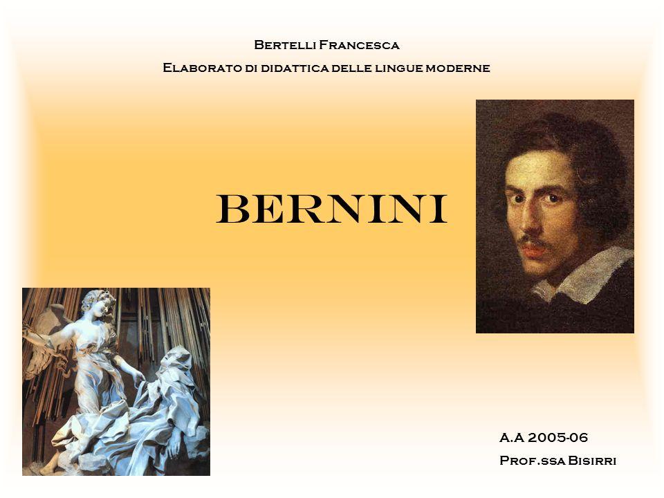 Bernini: il protagonista del 600 Innamorato del proprio lavoro; Larchitettura allinterno di una scenografia teatrale; Architetto, scultore, pittore, scenografo, costumista, commediografo…e protagonista assoluto di un secolo tanto importante!