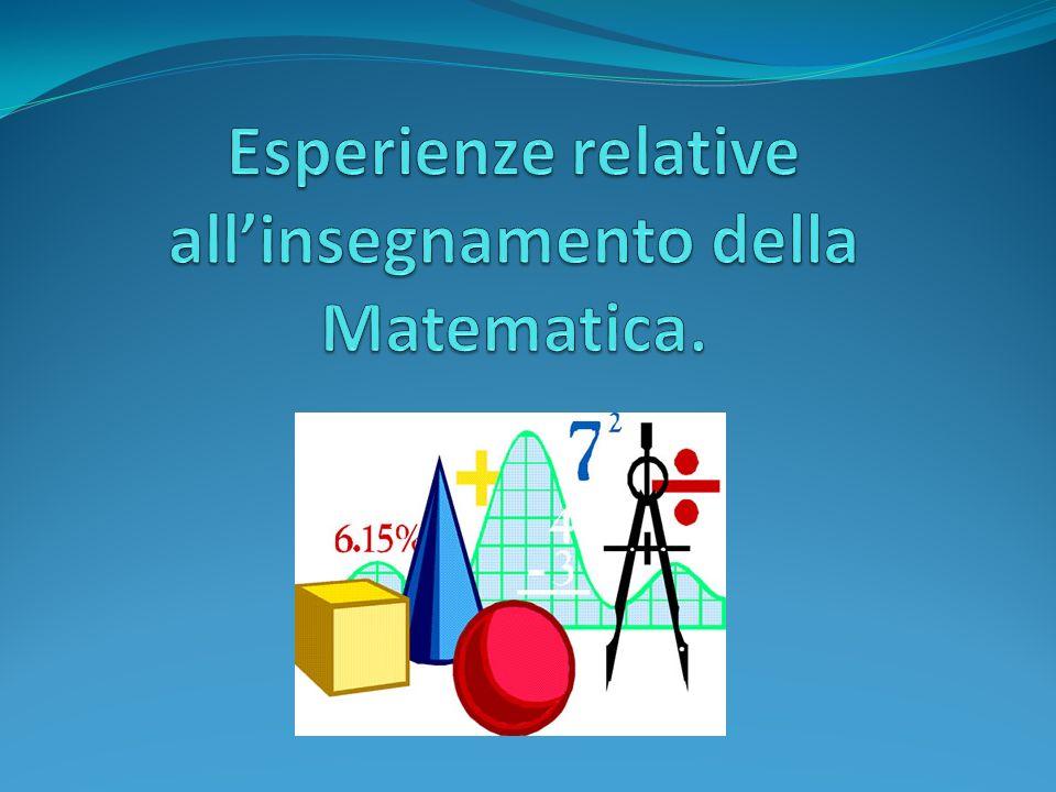 Quale ruolo può avere il computer nell apprendimento - insegnamento della matematica.