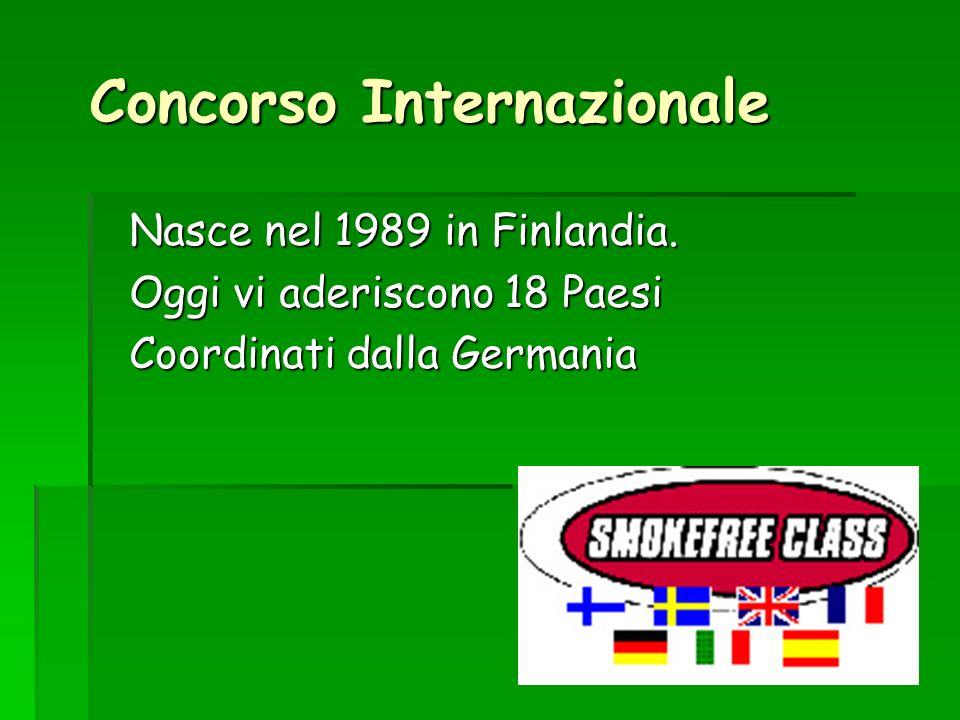 Concorso Internazionale Nasce nel 1989 in Finlandia. Oggi vi aderiscono 18 Paesi Coordinati dalla Germania