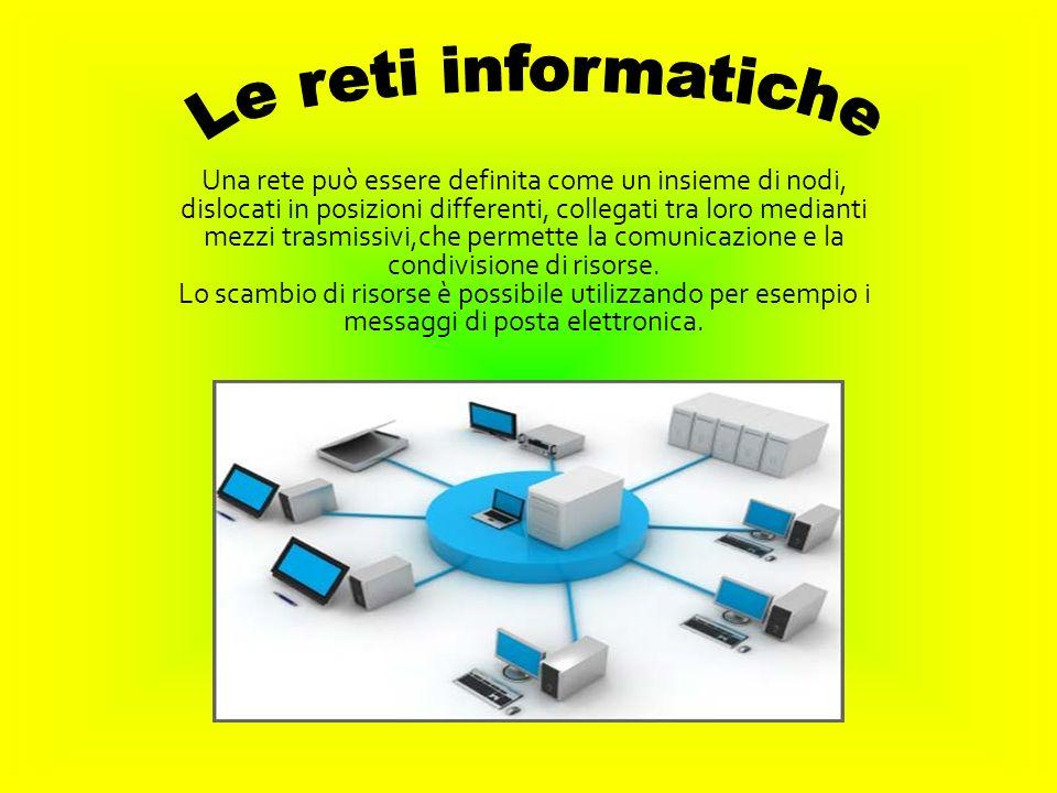 LAN (Local Area Network) costituita da un insieme di nodi situati in un edificio o in edifici adiacenti.