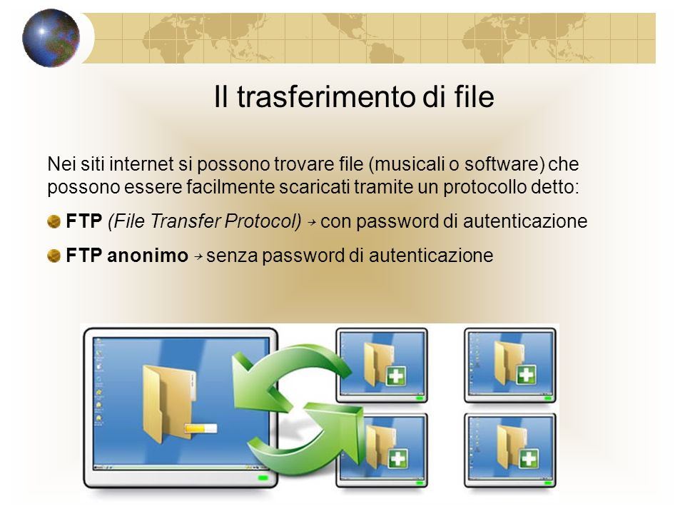 WWW tipo di dominio World Wide Web (.com,.gov,.edu) o nazionalità (.it,.fr) http://www.paramond.it protocollo per il proprietario trasferimento dei del sito documenti È una vasta rete di documenti che combinano testo, immagini, suoni e video.
