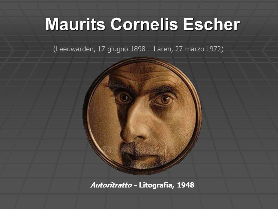 Maurits Cornelis Escher Autoritratto - Litografia, 1948 (Leeuwarden, 17 giugno 1898 – Laren, 27 marzo 1972)