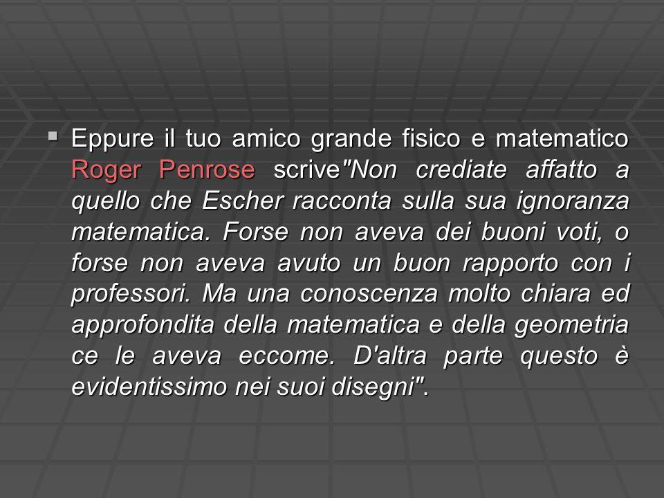 Eppure il tuo amico grande fisico e matematico Roger Penrose scrive