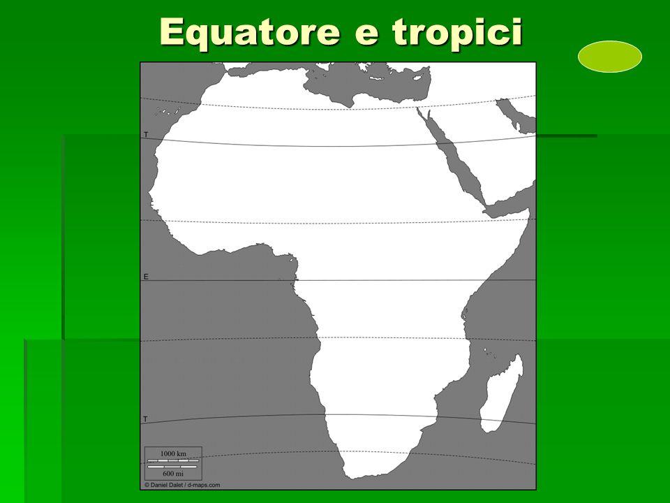Equatore e tropici