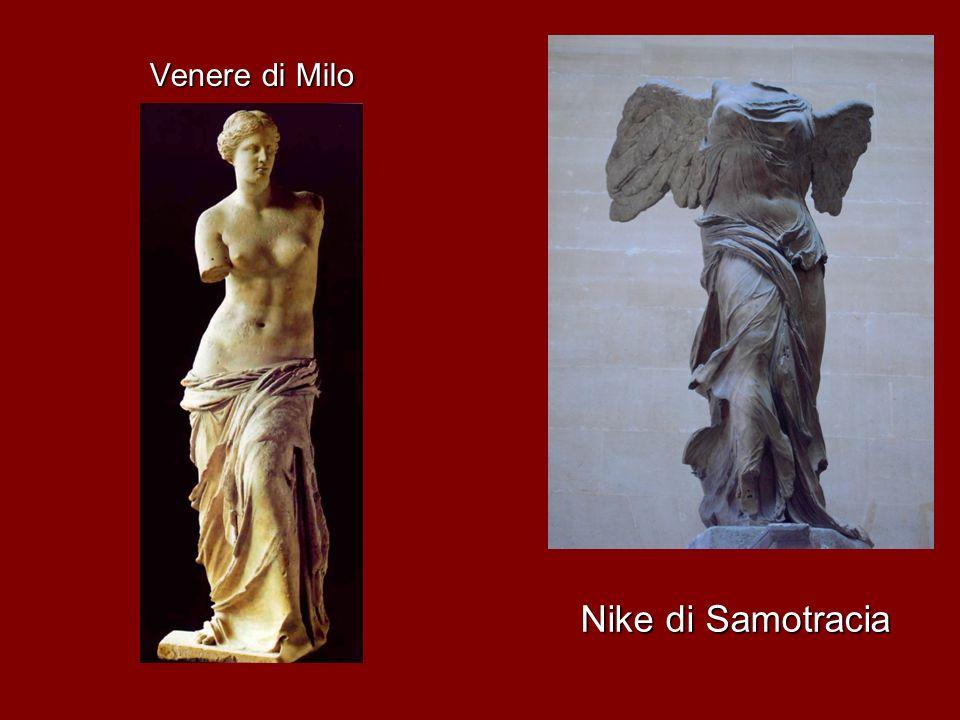 Nike di Samotracia Venere di Milo