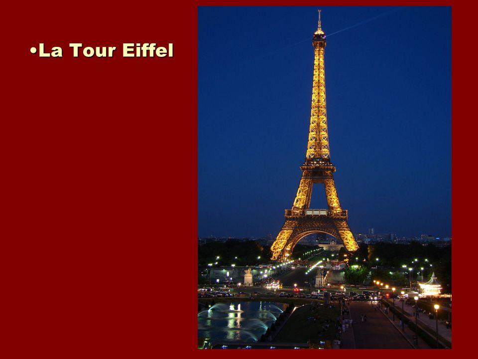 La Tour EiffelLa Tour Eiffel