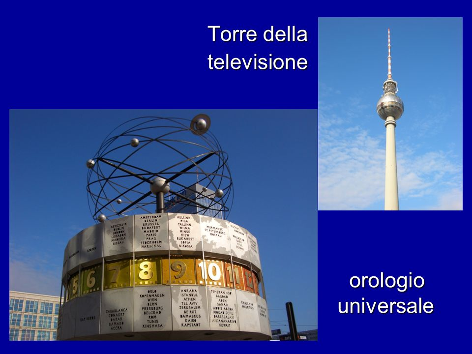 orologio universale orologio universale Torre della televisione
