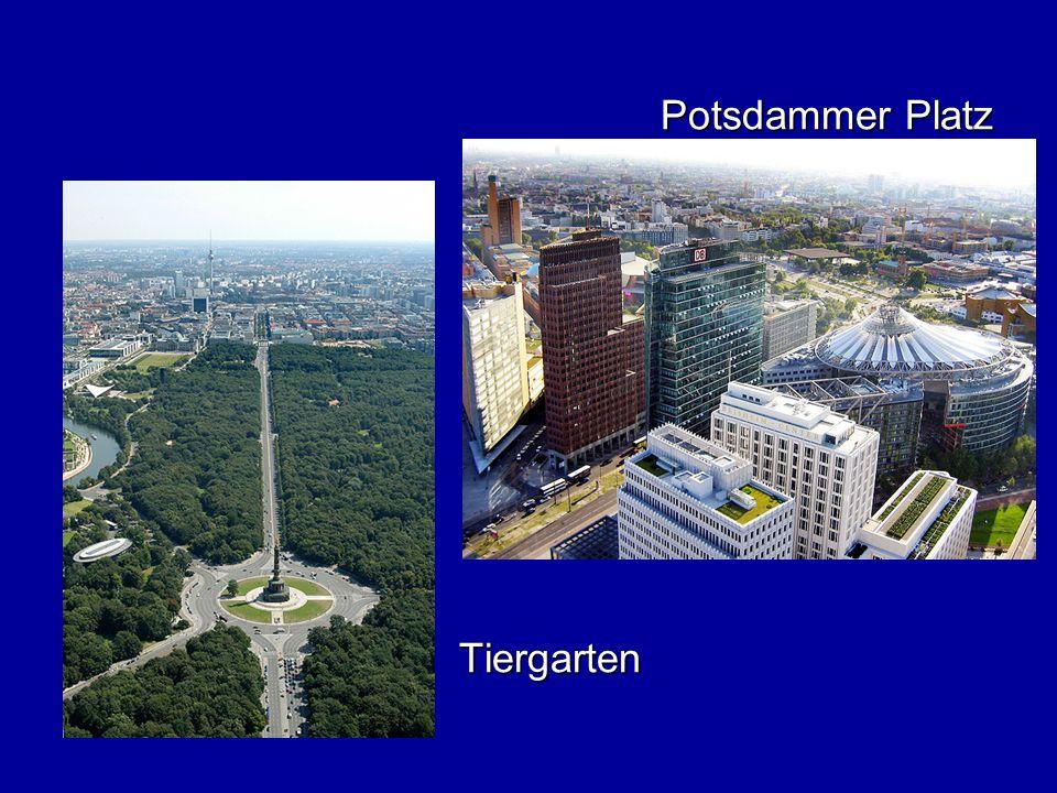 Potsdammer Platz Tiergarten Tiergarten