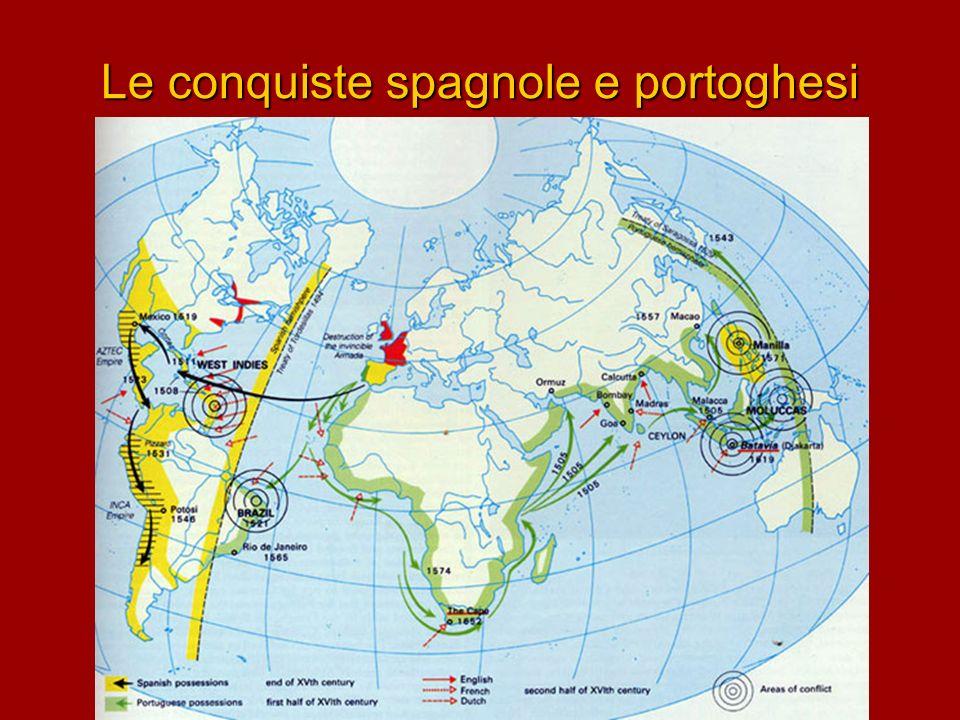 Le conquiste spagnole e portoghesi
