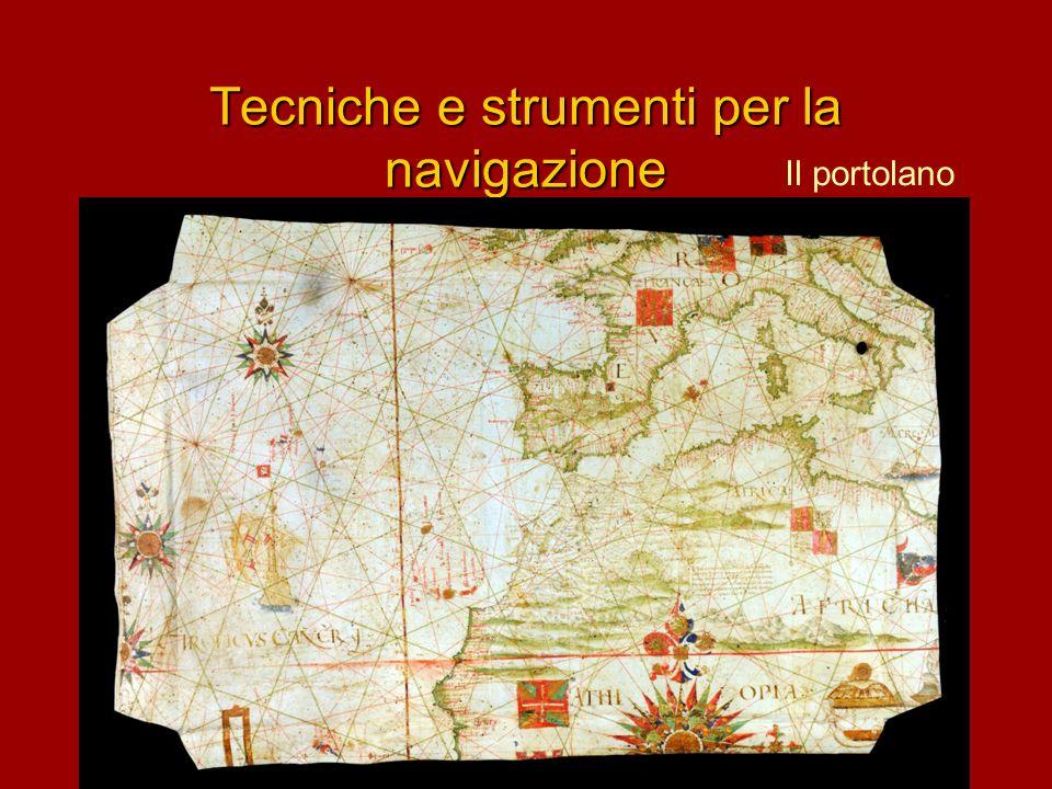 Tecniche e strumenti per la navigazione Il portolano