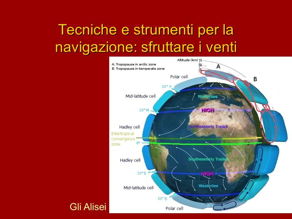 Tecniche e strumenti per la navigazione: sfruttare i venti Gli Alisei