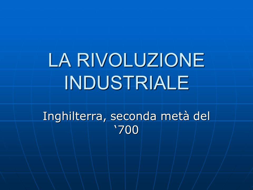 SISTEMA POLITICO LIBERALE CAPITALI DA INVESTIRE AGRICOLTURA SVILUPPATA RIVOLUZIONE INDUSTRIALE FONTI DENERGIA (ACQUA, CARBONECARBONE) MATERIE PRIME (FERRO E COTONE) VASTO IMPERO COLONIALE MERCATO INTERNO E INTERNAZIONALE MEZZI DI TRASPORTO E VIE DI COMUNICAZIONE FORZA LAVORO