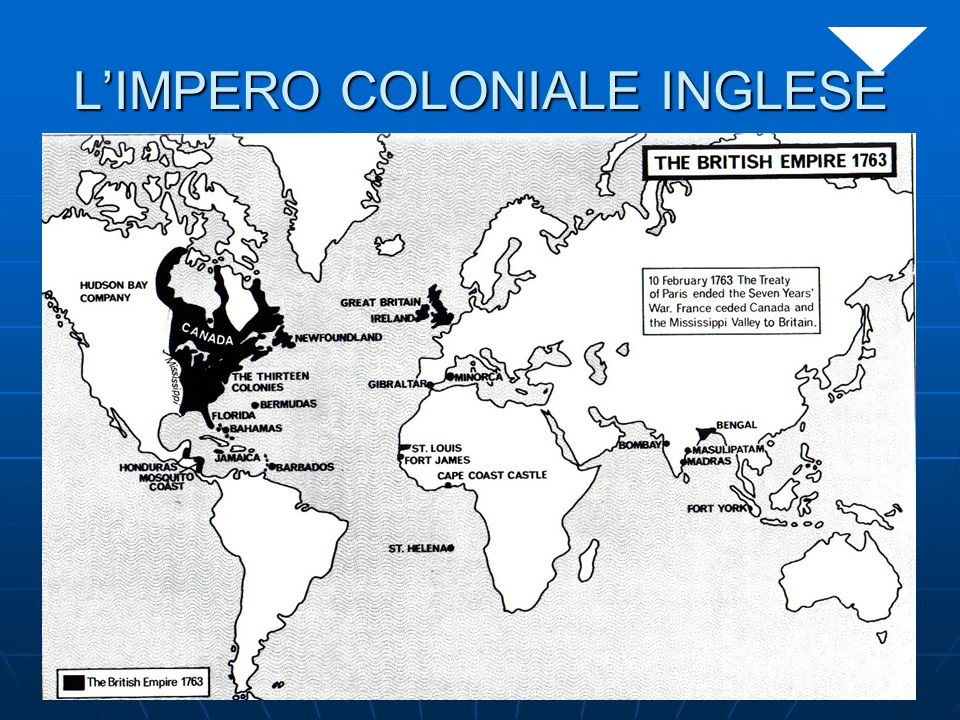 LIMPERO COLONIALE INGLESE