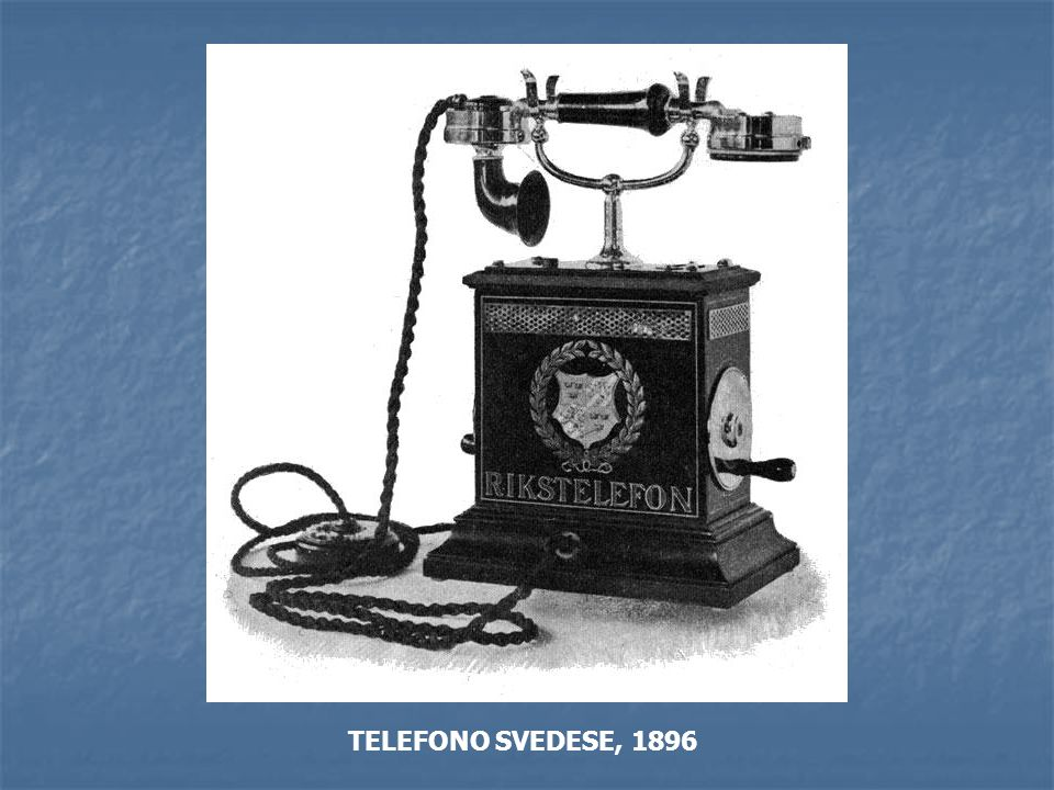 TELEFONO SVEDESE, 1896