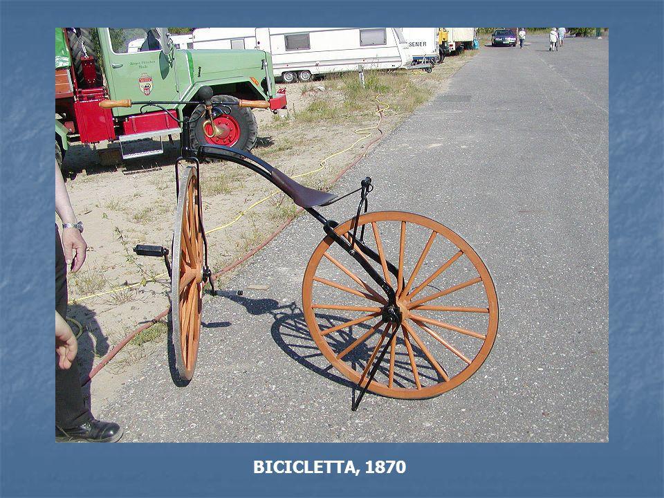 BICICLETTA, 1870