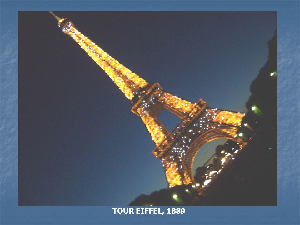 TOUR EIFFEL, 1889