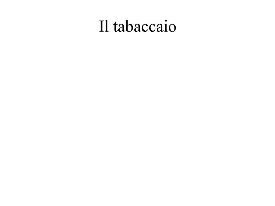 Il tabaccaio