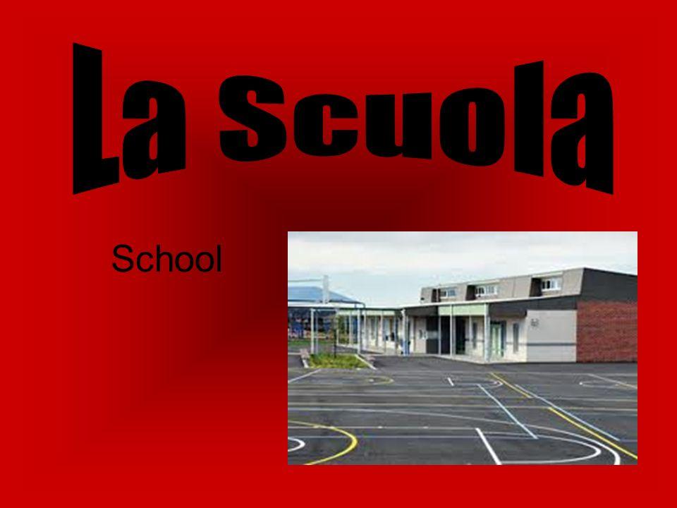 La Scuola in Italia Schooling in Italy is quite different to that in Australia.