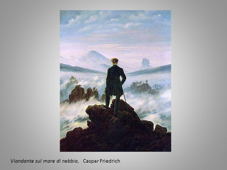 Viandante sul mare di nebbia, Caspar Friedrich