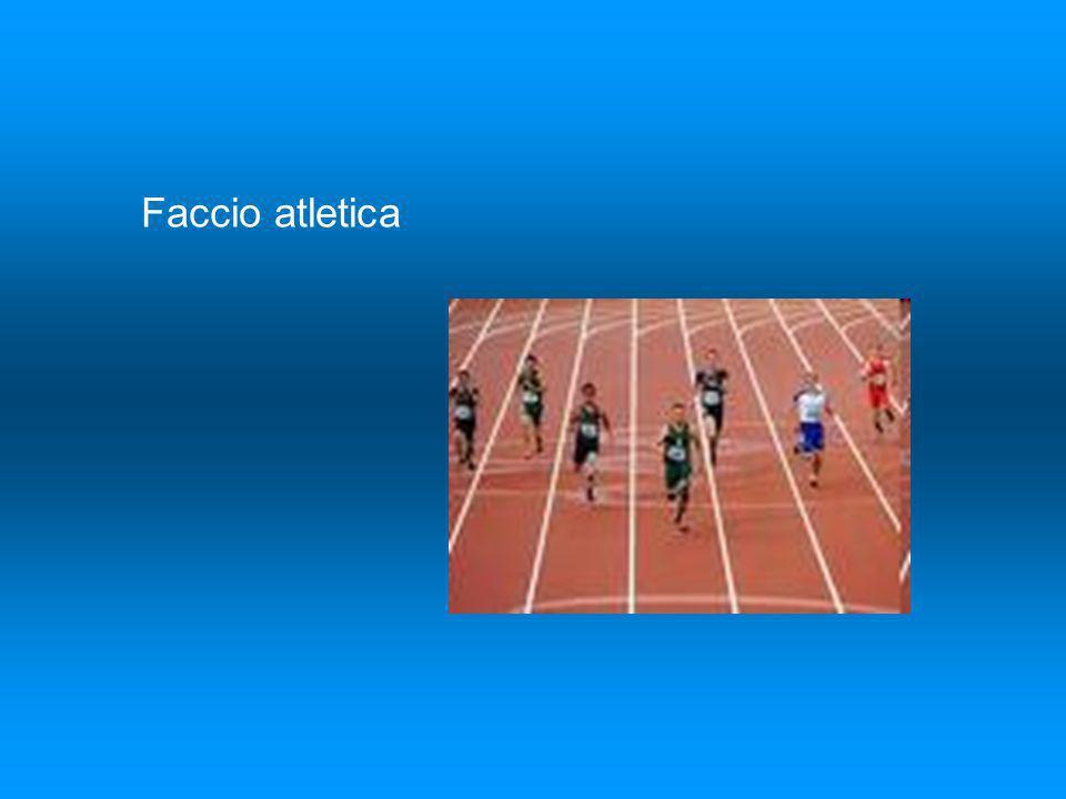 Faccio atletica