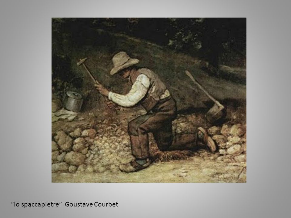 lo spaccapietre Goustave Courbet